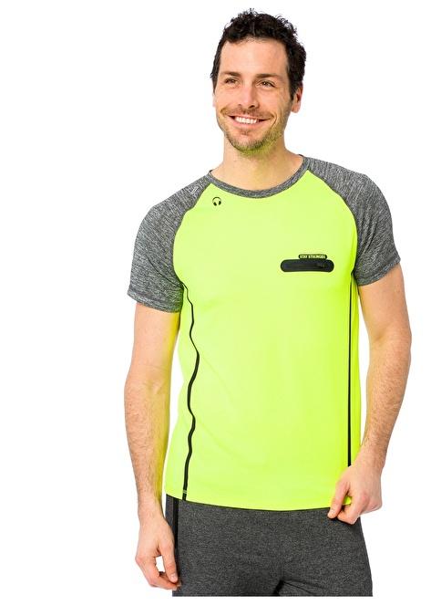 LC Waikiki Spor Tişört Yeşil